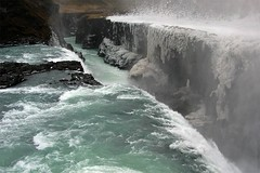 water and ice (elfis gallery) Tags: winter ice water waterfall iceland top20winter gullfoss