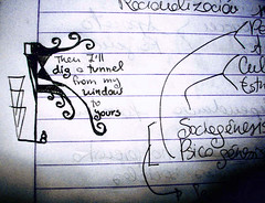 From my window (Henney Buggy) Tags: notebook drawing arcadefire lapicero cuaderno dibujitos