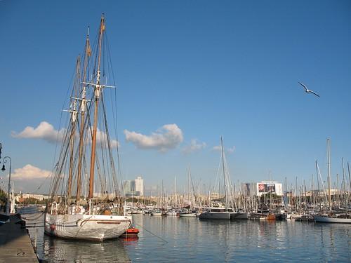 Port Vell marina