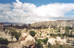 Sword Valley, Cappadocia, Turkey (east med wanderer) Tags: turkey trkiye unesco worldheritagesite cappadocia goreme turchia swordvalley trkiyeturkeytrkei worldtrekker