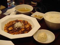 麻婆豆腐が名物とのこと
