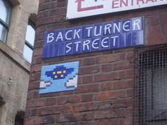Back Turner Street Invader