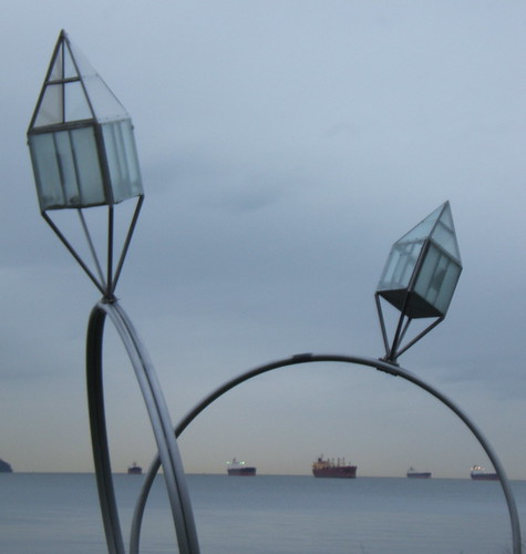 Sculpture, English Bay, Vancouver