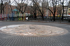NYC - LES - Seward Park: Mosaic Map by wallyg, on Flickr