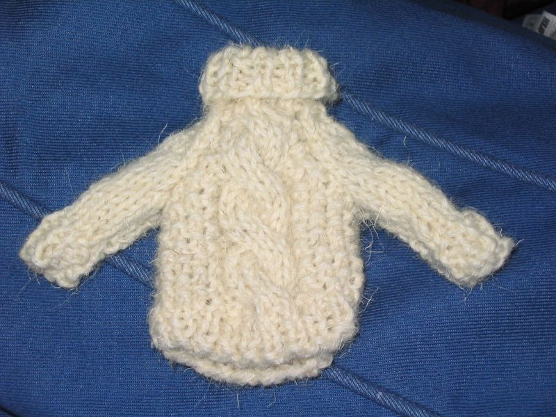 Mini Aran Ornament