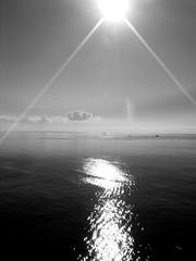 top of a clif 27 december (-jO-) Tags: sea cloud sun reflection boats mediterranean december horizon ibiza zen calmness