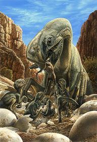 oviraptor nest