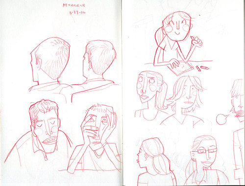 sketchdump: at church