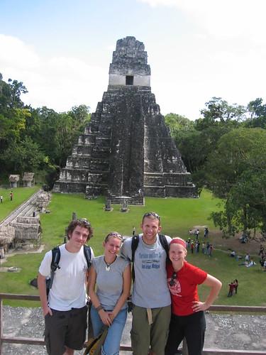 Tikal Guatemala Temple Ruins
