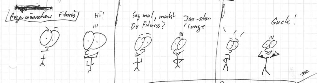 Augenmännchen:Fitness