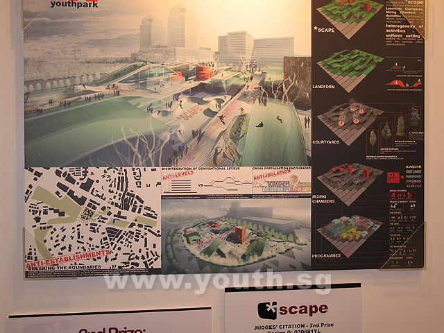 This is how *scape will look in Feb 2009 - Youth SG
