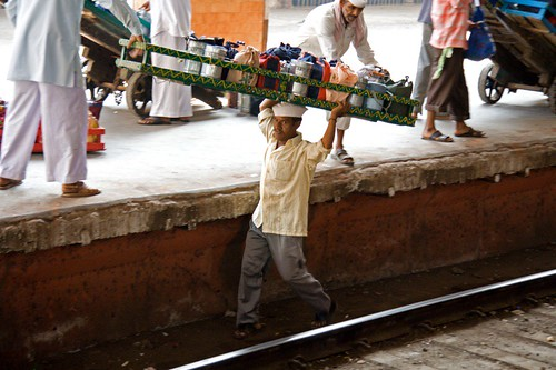Dabbawala Rail Crossing