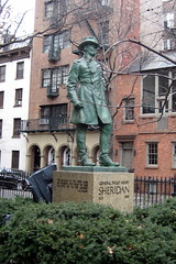 NYC - West Village: Christopher Park - Philip Henry Sheridan statue by wallyg, on Flickr