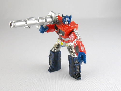 "3"" Titanium G1 Optimus Prime (Battle-Damaged)"
