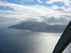 Montserrat From Helicopter