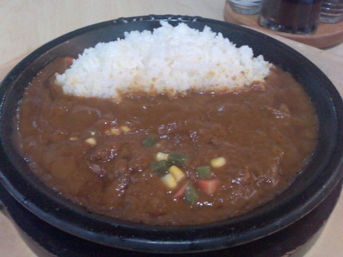 Atsu Atsu Curry Rice