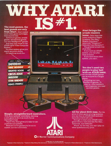 Vintage Ad #127 - Why Atari Is #1