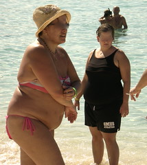 Paradise Island, Dominican Republic (colros) Tags: black dominicanrepublic obesity foodaddiction