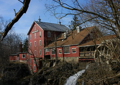 Historic Clifton Mill (Dave Schreier) Tags: ohio mill sepia outdoors waterfall bravo adventure clifton helluva spectacularlandscape mywinners abigfave aplusphoto holidaysvacanzeurlaub
