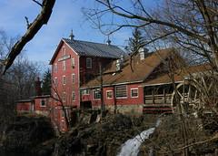 Historic Clifton Mill (Dave Schreier) Tags: ohio mill sepia outdoors waterfall bravo adventure clifton helluva spectacularlandscape mywinners abigfave aplusphoto holidaysvacanzeurlaub