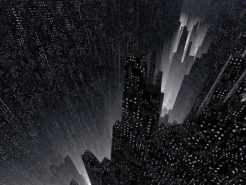 Las ciudades futuristas del pasado