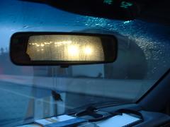 Rainy Street, Rear View Mirror