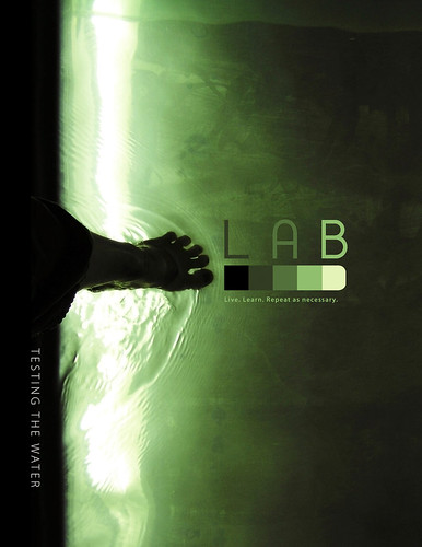 LAB issue 0.5 | front cover