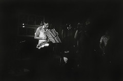 Dexter Gordon, Benny Bailey & Stafford James (Tom Marcello) Tags: blackandwhite photography trumpet jazz jazzmusic tenor dextergordon jazzmusicians villagevanguard livejazz jazzplayers jazzphotos jazzphotography bennybailey thevillagevanguard nycjazz jazzphotographs tommarcello