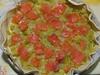 Torta salata salmone e porri / 1