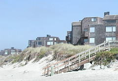 Condos, Stairs and Beach at Pajaro Dunes