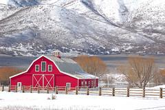 Red Barn (Jeremiah Barber Photography) Tags: ut redbarn wallsburg