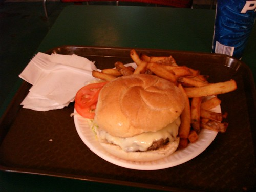 Cheeseburger & Fries @ the Blarney Stone, Midtown NYC