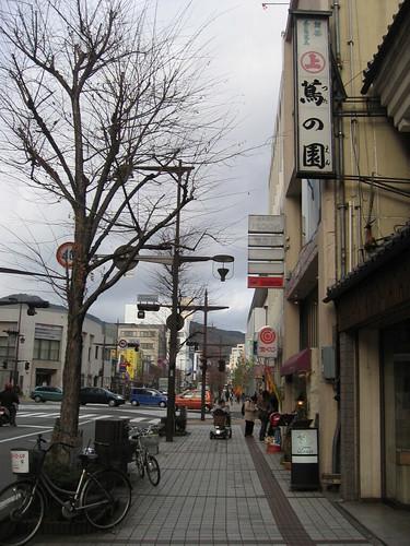 長野市街頭