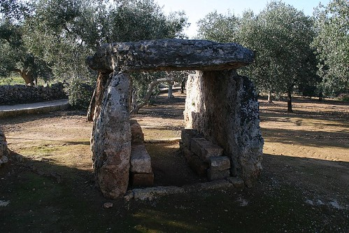 The Dolmen di Montalbano - way older than some silly trulli.