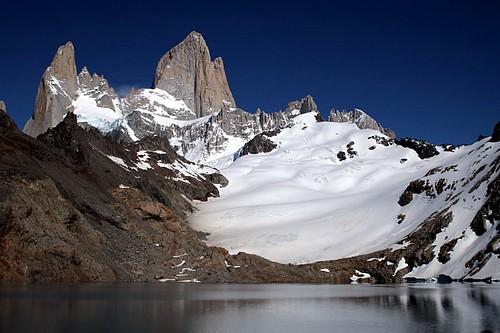 Campos de hielo en la Patagonia