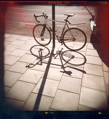 bike and shadow