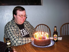Yes I drink beer and eat cake (Ludeman99) Tags: bday 28th