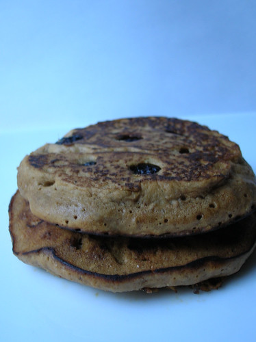 gingerbread-blueberry pancakes 1