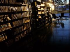 Empty library (Lalallallala) Tags: helsinki university interior library books bookshelf thesource libslibs librariesandlibrarians terkko medicallibrary