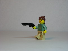 Lara with Shotgun