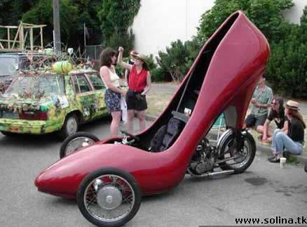 Прикольные фото, приколы: чисто женский автомобиль