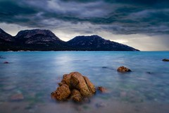 Hazards at Sunset 3 (jejl) Tags: ocean blue sunset sea sky cloud nature water landscape evening exposure australia tasmania freycinet specland abigfave aplusphoto