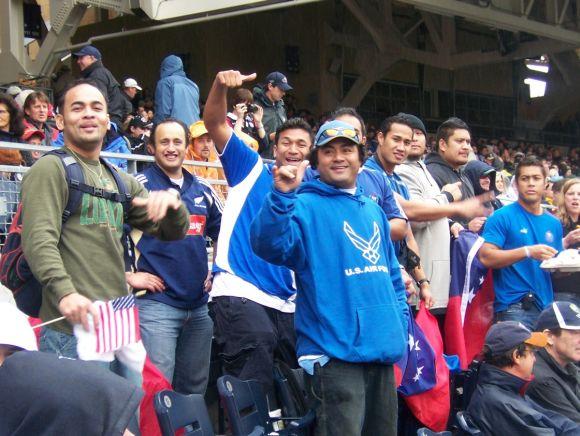 Samoa Sevens Supporters