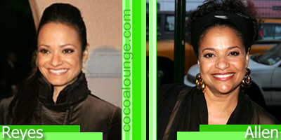 Separated at Birth: Judy Reyes and Debbie Allen