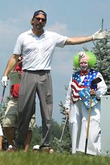Kevin Costner (joschmoblo) Tags: charity copyright d50 golf nikon wolf kevin fuzzy 2006 tournament 18200 challenge allrightsreserved 2007 costner kevincostner zoeller joschmoblo christinagnadinger
