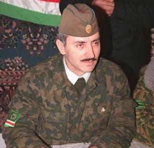 Former Chechen Dzhokhar Dudayev