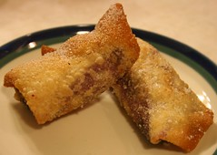 Blueberry Eggrolls