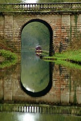 bridge (lovestruck.) Tags: bridge reflection water canal shropshireunioncanal narrowboat explored challengeyouwinner pentaxk10d thechallengefactory fotocompetition fotocompetitionbronze
