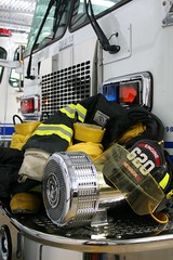 Fire Gear (prncsmedic84) Tags: rescue truck fire flames 911 engine gear firetruck squad darley firefighters turnoutgear