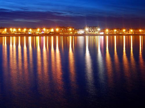 022607 Lights along Weymouth Esplanade